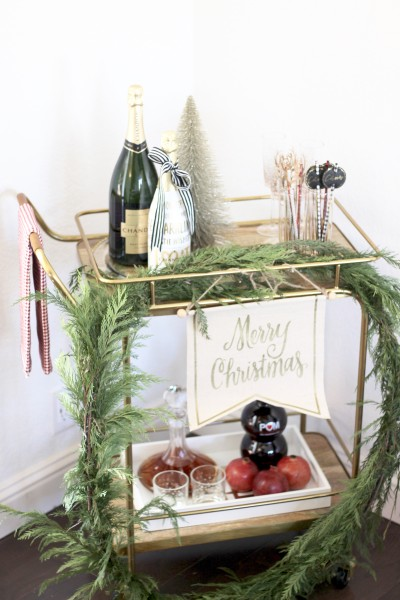 Christmas Day Tablescape