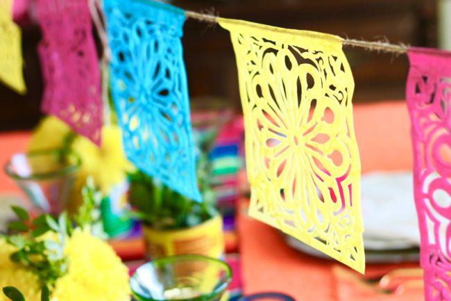 Bright and Festive Cinco de Mayo Bar Cart