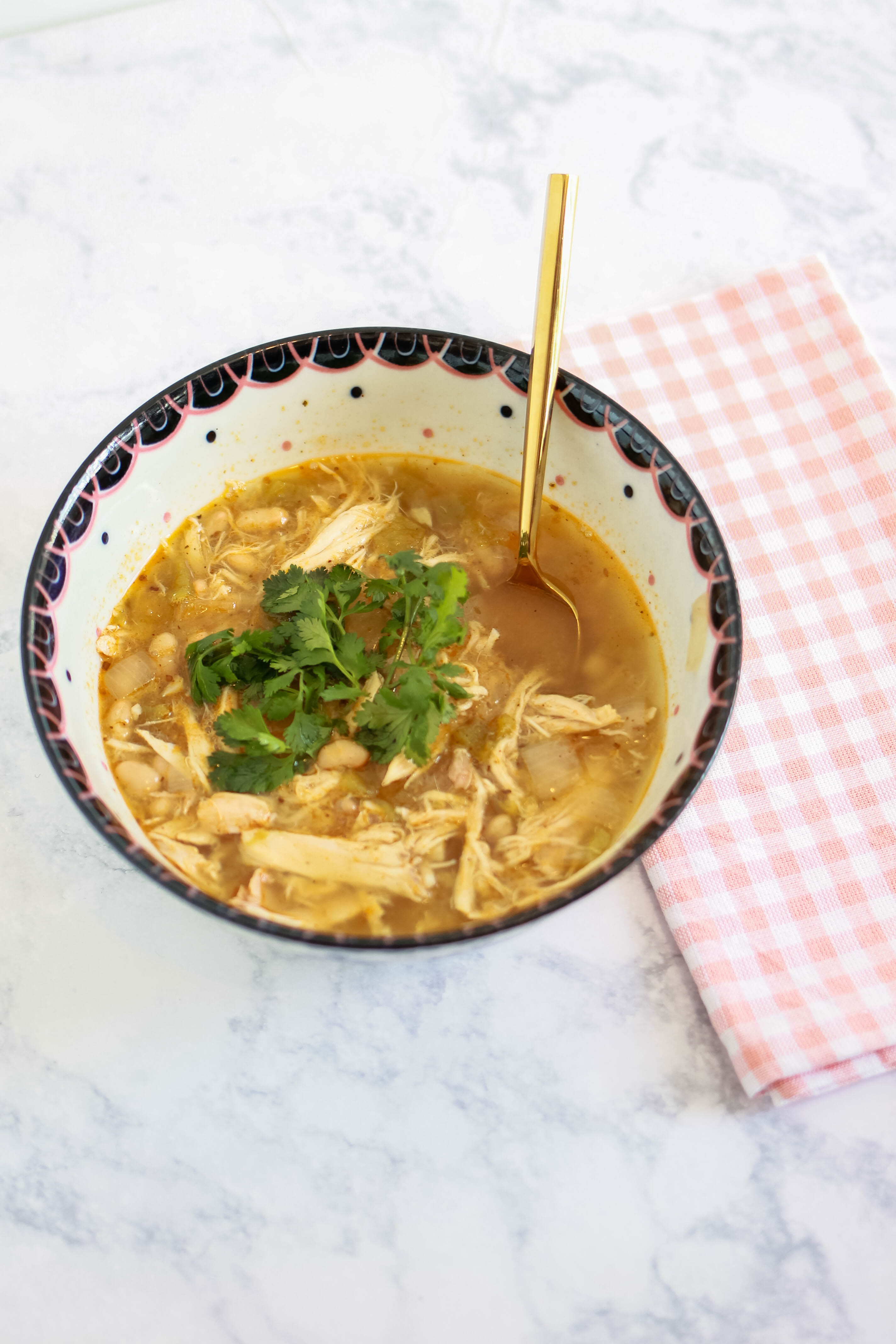 Homemade Chicken Tortilla Soup | amberpizante.com