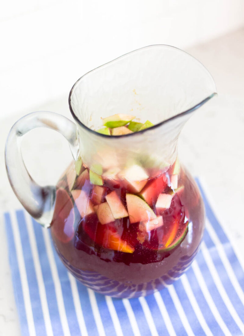 Starting Summer Off With Sangria